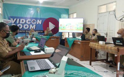 Bintek Wabsite di Aula Dinkominfo Kabupaten purbalingga