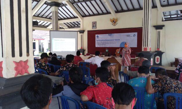 Sosialisasi Teknis Pelaksanaan Kesepakatan Teknis Batas Wilayah Desa/Kelurahan Kabupaten Purbalingga Tahun Anggaran 2021