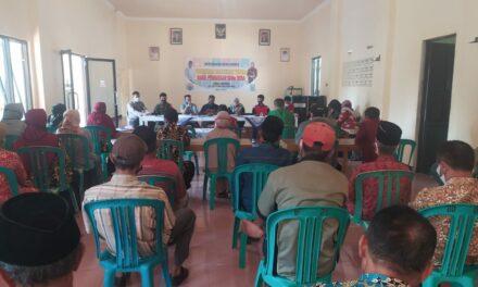 MUSYAWARAH DESA PENETAPAN HASIL PEMUTAKHIRAN DATA SDGs DESA TAHUN 2021